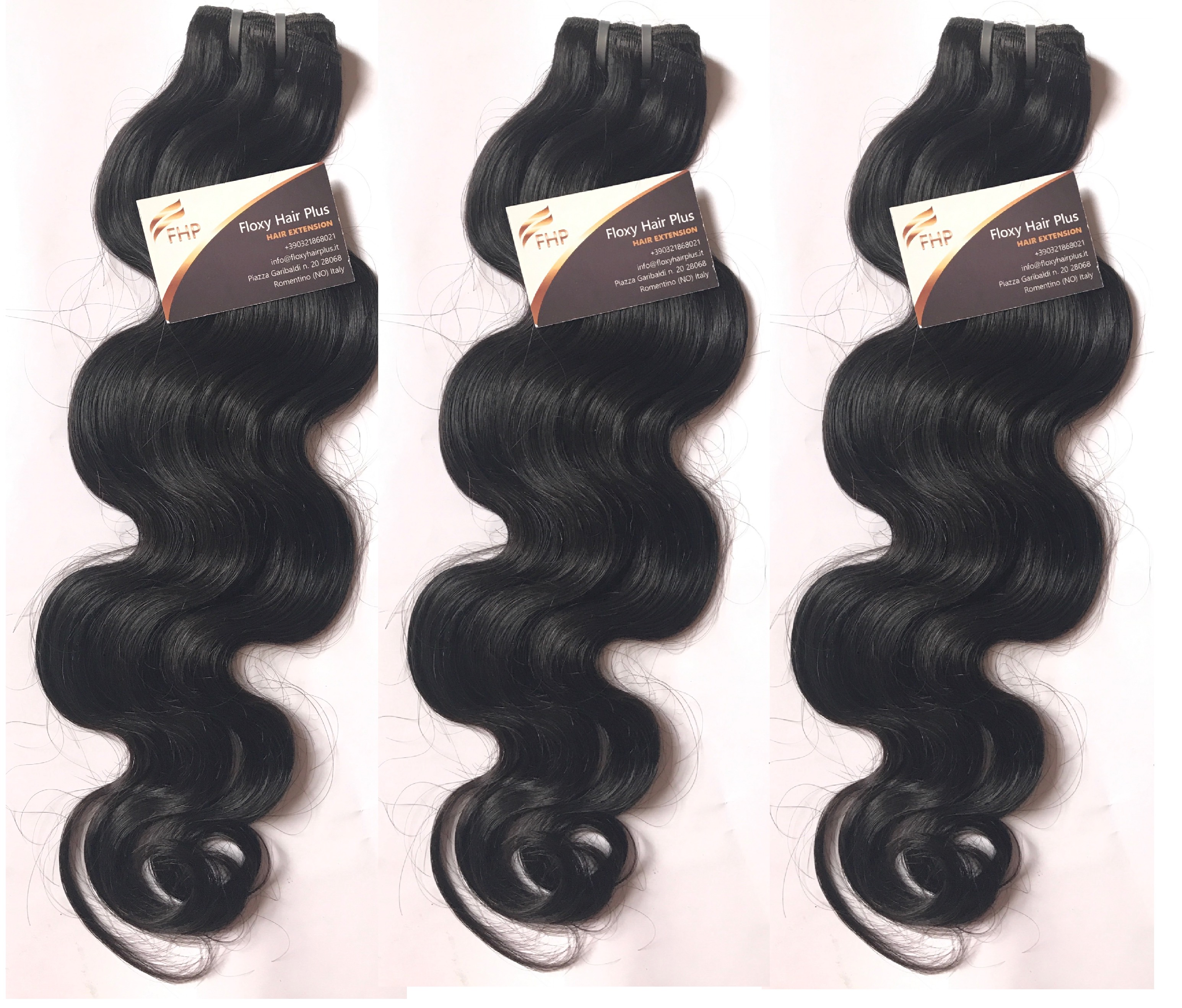 Steamed Body Wave 23 Or 4 Bundle Deals With Or Without Closures
